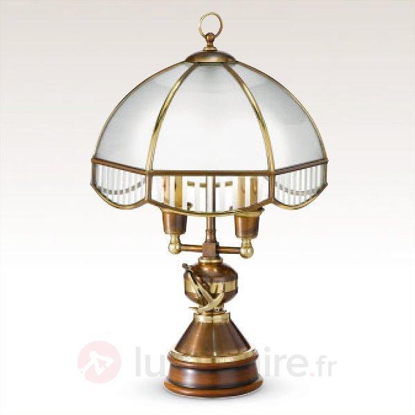 Lampe à poser rustique Laguna - Lampes à poser en bois