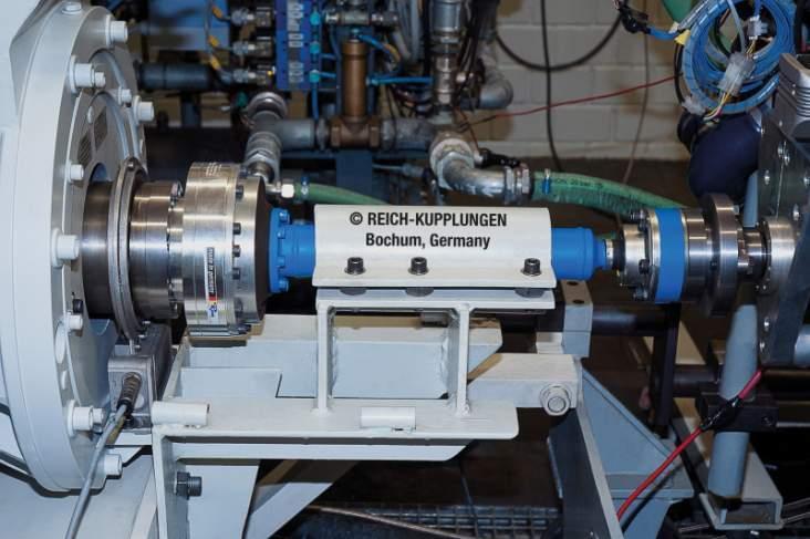 TOK Système d'accouplement - TOK Système Arbre d'accouplement hautement élastique pour bancs d'essai