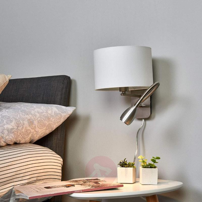 Risa - wall light with reading light - Wall Lights