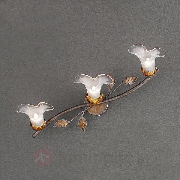 Applique florentine à 3 lampes PALIA - Appliques style florentin