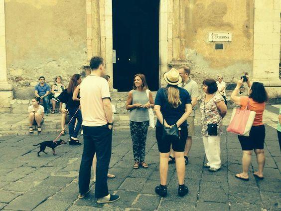 Taormina Walking Tour with Greek Theatre visit -