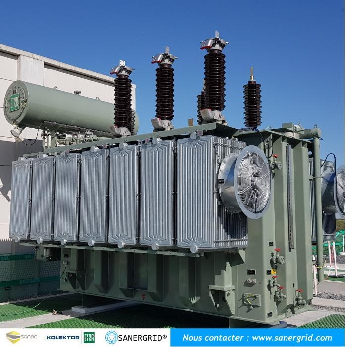 Transformateur de puissance HTB KOLEKTOR ETRA - Transformateurs de puissance à huile de 10 à 400 MVA et de 20 à 400 KV KOLEKTOR