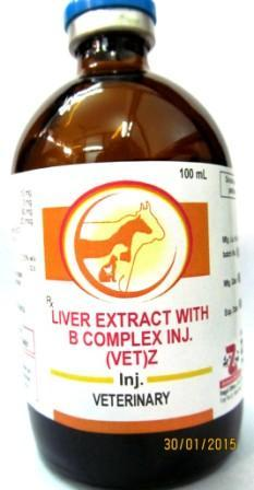 Veterinary Liver Extract with B-Complex Injection - Veterinary Liver Extract with B-Complex Injection
