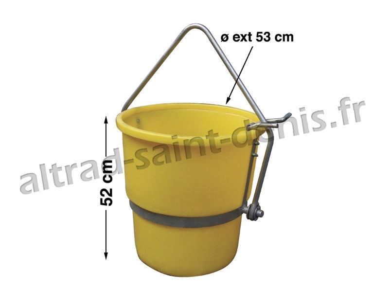 Benne à béton 70 litres - Bacs Coffres Bennes