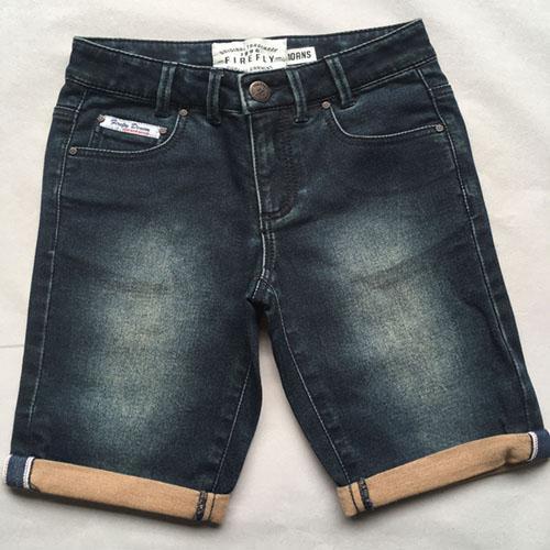 Pantalones cortos de mezclilla para mujer - Pantalones cortos de mezclilla retro
