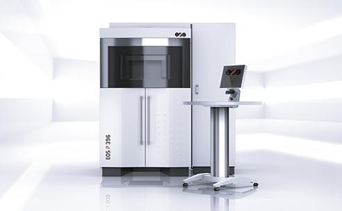 EOS P 396 - System for Additive Manufacturing from polymer materials with high productivity.