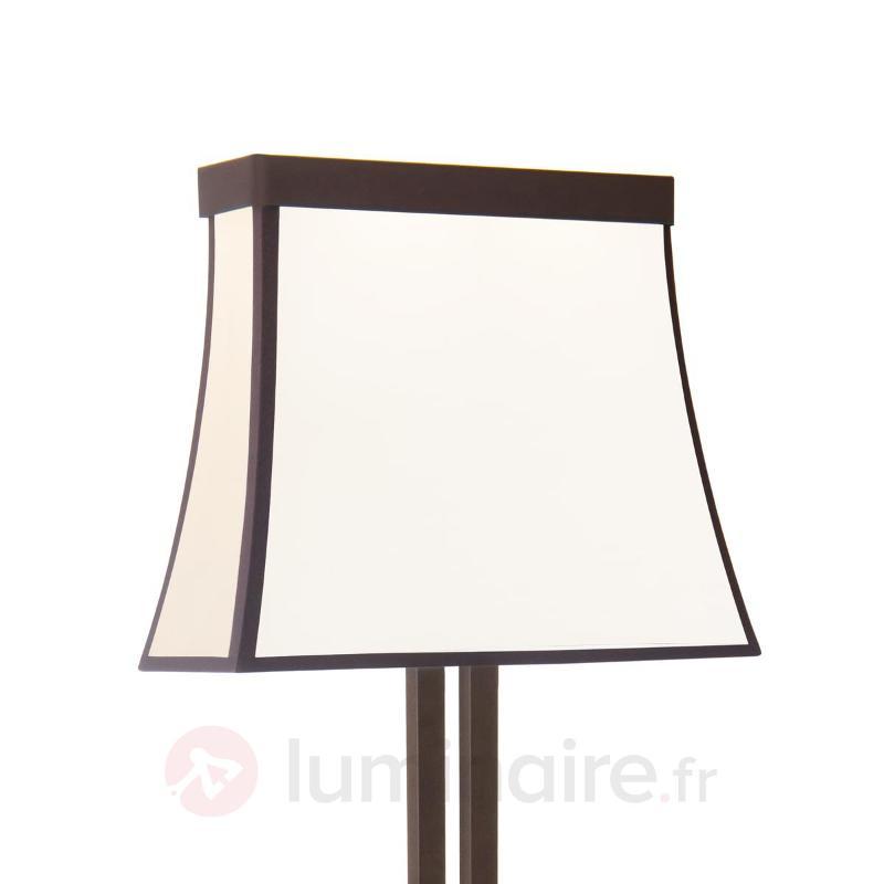 Fancy - adorable lampadaire LED, abat-jour tissu - Lampadaires en tissu