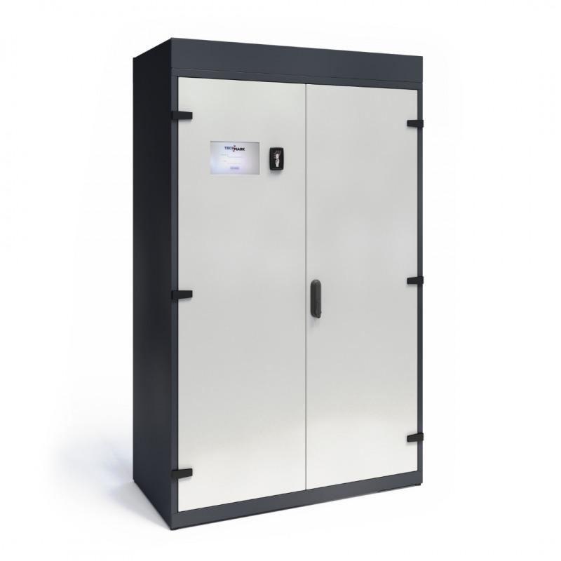 Szafy TECHCODE z automatyczną rejestracją zdarzeń - Szafy z technologią RFID