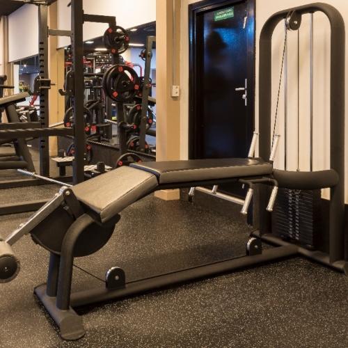 Envirofloor impulse - Slijtvaste & geluiddempende fitnessvloeren voor intensief gebruik.