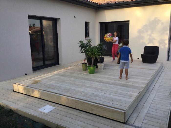 Terrasses Mobiles Piscines et spas 'Vivaldi' by DIBLUE - Fabricant et installateur sur toute la France