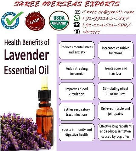 Organic Lavender Oil - USDA Organic