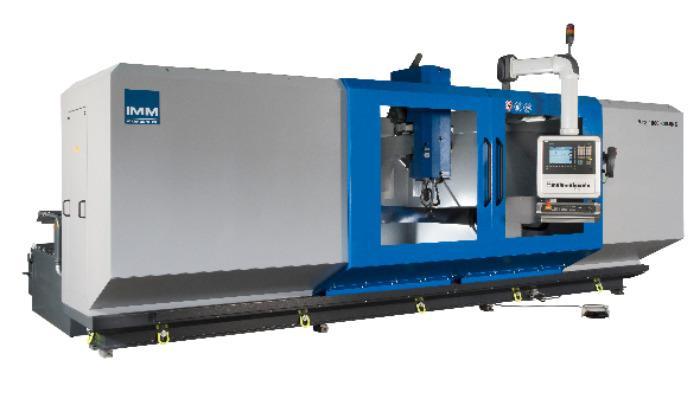 MTS Blade Polishing Machine Tool - Fan blade, compressor blade, steam turbine blade polishing machine tool