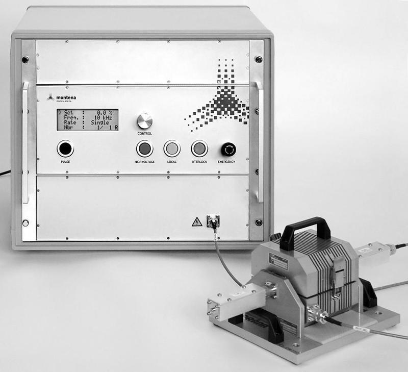 Générateur de susceptibilité électromagnétique - GENERATEURS D'IMPULSIONS MONTENA