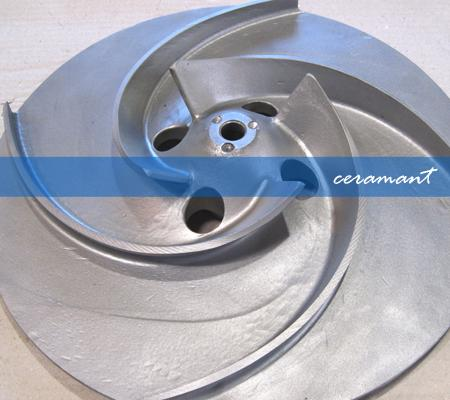 Pump impeller - Pulp and Paper Industry