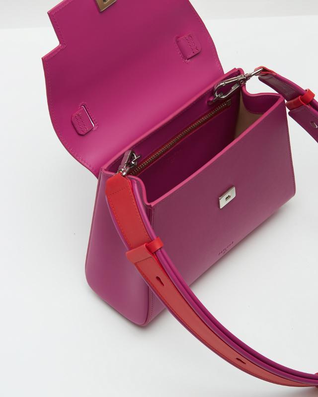 Min-trapezium Bag Fuchsia - POWERWOMAN
