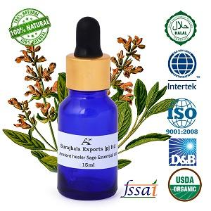 Ancient healer Sage oil 15 ML -  Sage essential oil