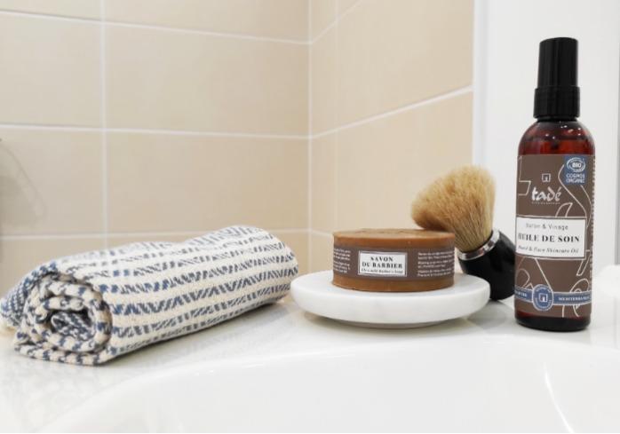 Huile De Soin Barbe & Visage Certifiée Cosmos Organic - Huile à barbe