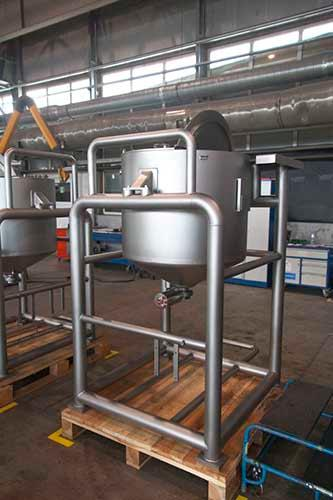 Custom fabrication of stainless steel products -  and process equipment - OEM production