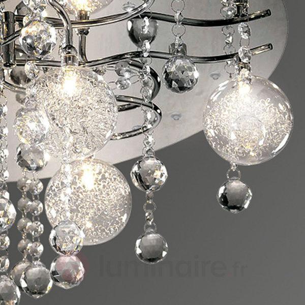 Élégant plafonnier KALLISTO - Plafonniers en cristal