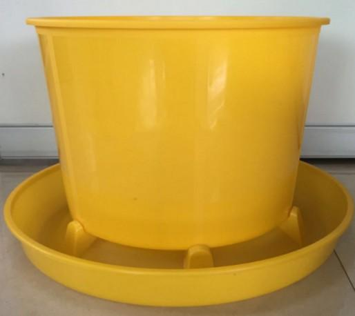 40kg plastic chicken,goose,duck feeder trough,bucket