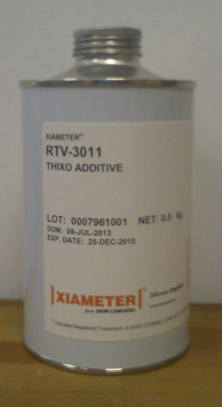 Produits pour le moulage Adjuvants: Thixo - Fluid - Pigments - AGENT THIXOTROPE RTV 3011 0.5K