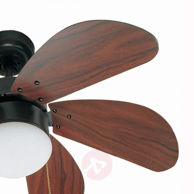 PALAO Dark Brown Ceiling Fan - fans