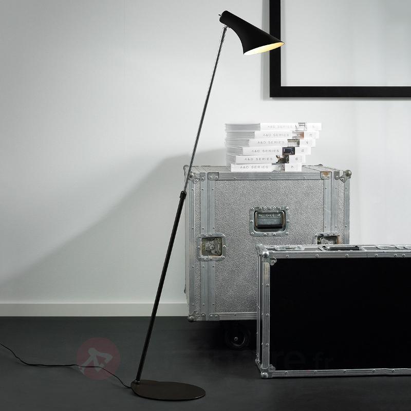 Lampadaire élégant et flexible Liam noir - Tous les lampadaires