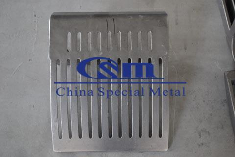 篦板  Grate plate, grating plate - Rotary kiln chain grating machine parts