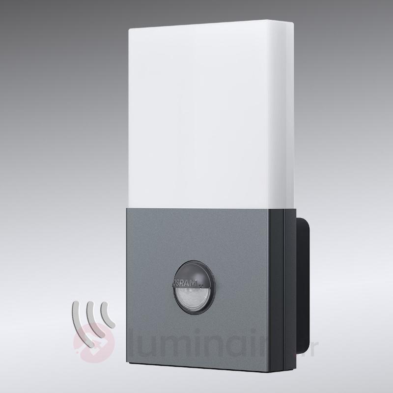Applique LED Noxlite Lum Wall avec capteur, 3000 K - Appliques d'extérieur avec détecteur