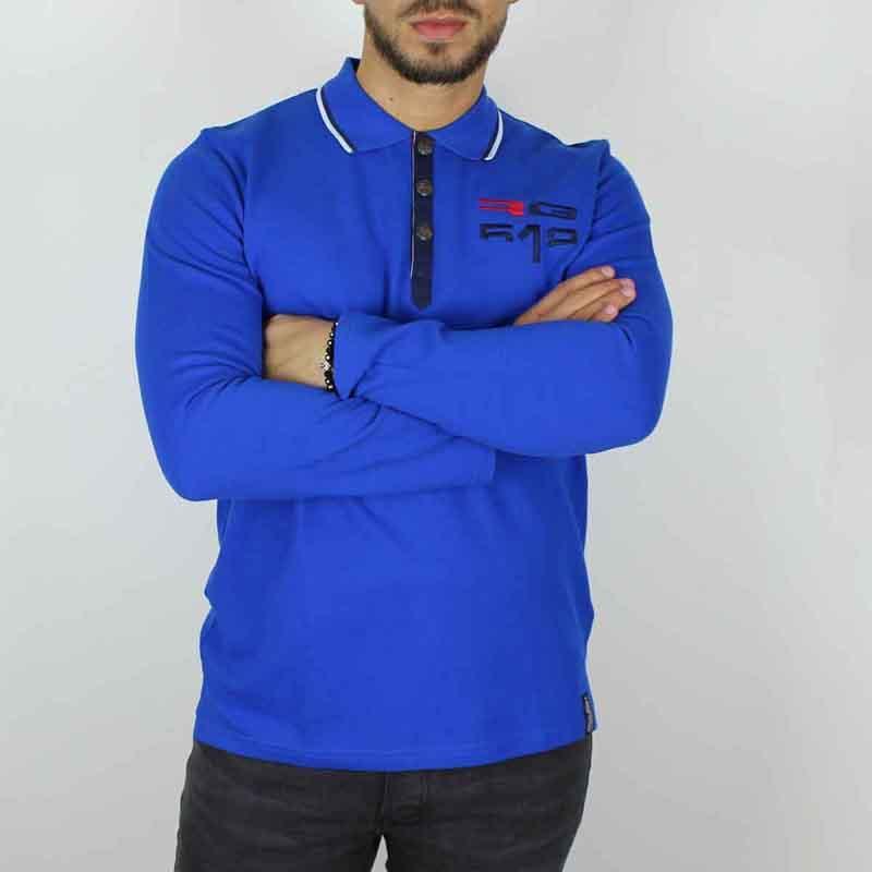 Großhändler kleidung Polo mann lizenz RG512 - T-shirt und polo langarm