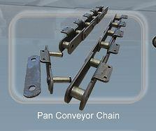 Pan conveyor chain - Conveyor chains and components