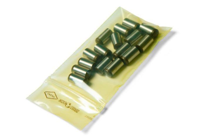 Bolsos Zerust Excor - Bolsa de plástico VCI | Zip Lock / Resellable | Varios tamaños