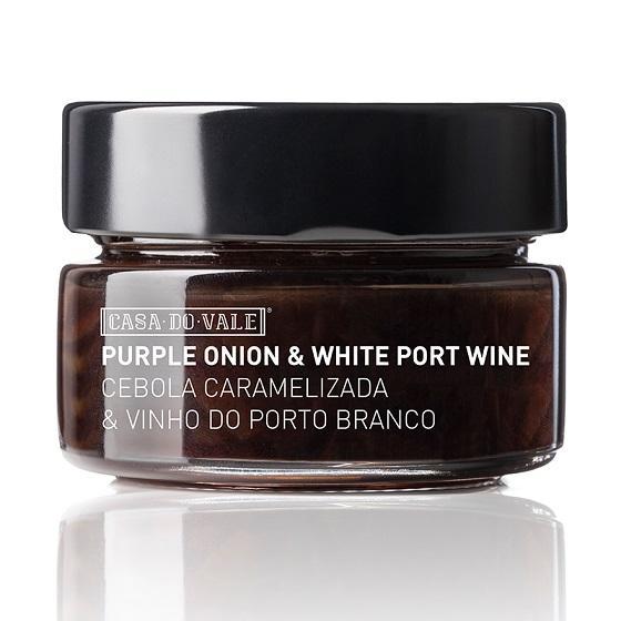 Cebola Roxa Caramelizada com Vinho do Porto