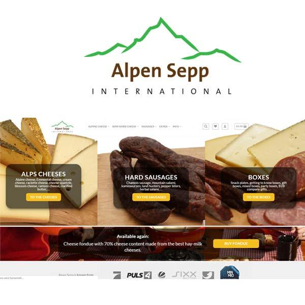 Artisanal Cheeses and Sausages - Alpine Food Products