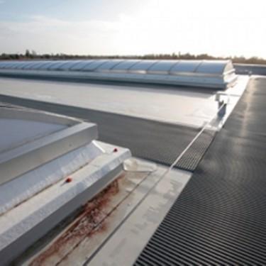 Tapis de sol industriel - Caillebotis Spécial Toiture