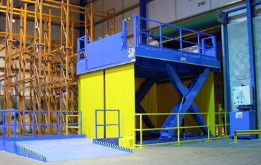 Loading lift platforms - LAWECO loading lift plattform