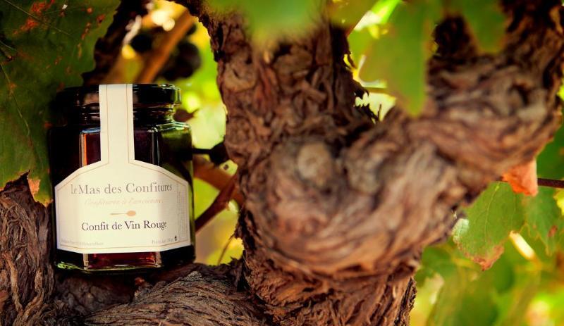 Confit de Vin rouge 45g - Épicerie sucrée