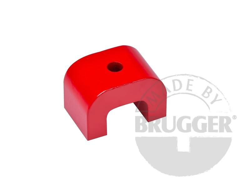 Horseshoe magnet made of AlNiCo, arch form - null