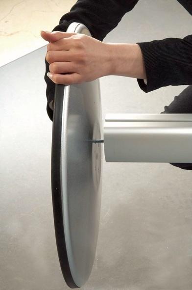 Show Boards - Vitrine sur pied face magnétique