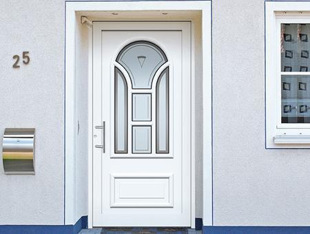 porte d 39 entr e avec un tiers ouvrant portes kompotherm typ es classiques athomic s curit france. Black Bedroom Furniture Sets. Home Design Ideas