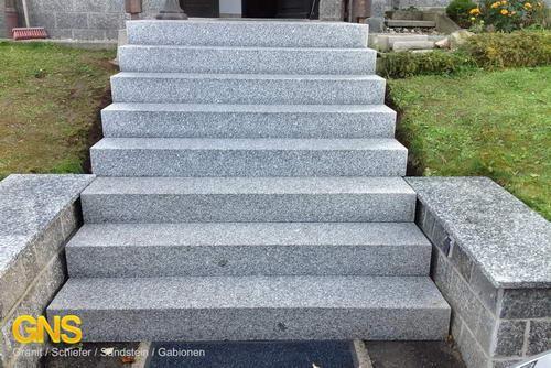granit blockstufen -