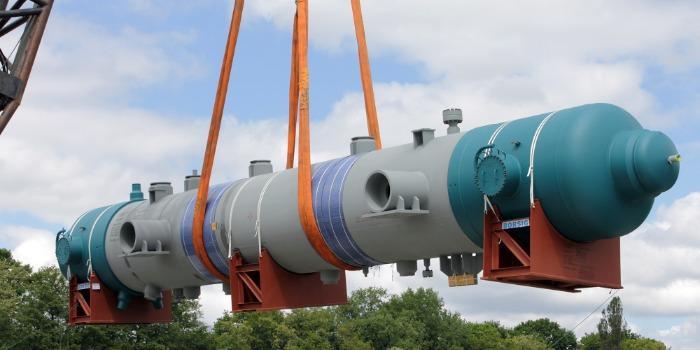 BORSIG Reformed gas waste heat boiler - BORSIG offers two different designs