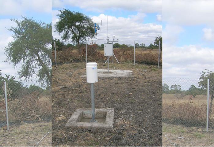Pluviomètre RG 50 à bascule -