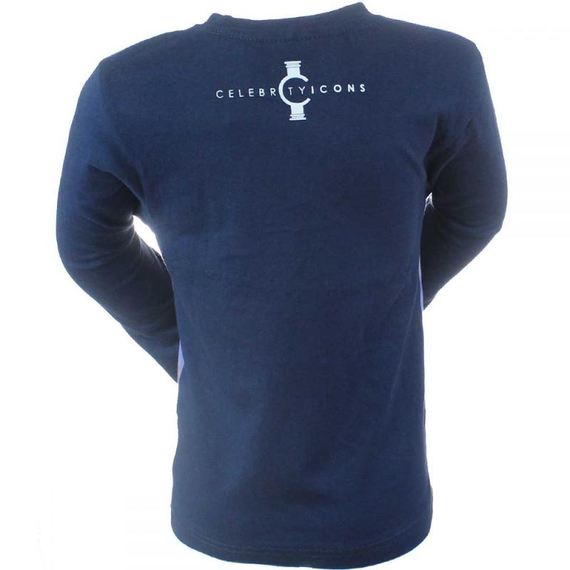 5x T-shirts manches longues AirJ du 4 au 12 ans - T-shirt et polo manches longues