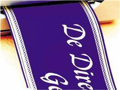 Rubans Deuil - Polysat 75mm