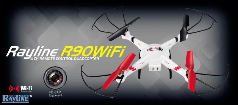 RC Ware anderer Hersteller RC Quadrocopter - R90wifi