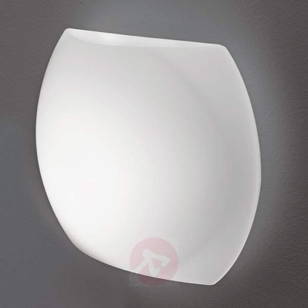 LED wall light Clara Applique with opal glass - Wall Lights