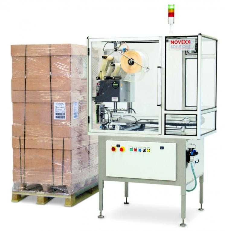 Palettenetikettierer XPU - Palettenetikettierer GS1-konform, RFID-fähig, 2-seitig 3-seitig Etikettierung