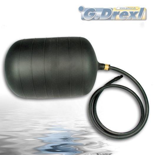 Absperrblase - Dichtkissen kurz - für 200 - 300 mm ø Rohrleitung geeignet, mit Reifenventiladapter