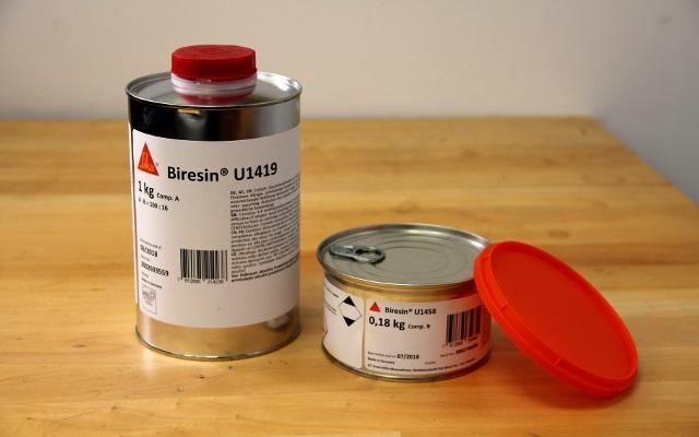 BIRESIN PU U1458 POLYOL 0.18KG  - Resines polyurethanes Elastomère pu